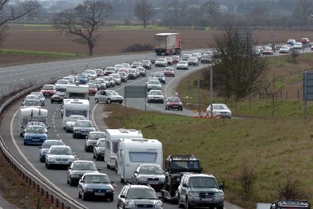 Political pressure is growing to upgrade improvements to the A64.