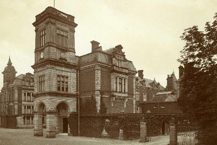 Warter Priory near Pocklington was demolished in the 1970s