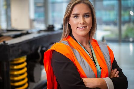Caitlin Gent is an engineering student at the National College for High Speed Rail.