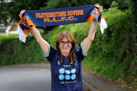 Barbara Wilford has been actively involved in Featherstone Rovers for many years.