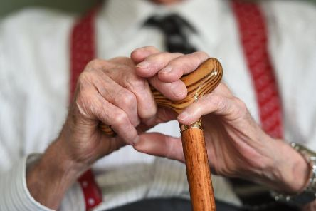 The elderly are more likely to face loneliness. Picture by PA Archive/PA Images