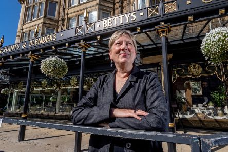 Date:6th June 2019.'Picture James Hardisty.'For Vision Magazine.....Lesley Wild Chairman of Bettys & Taylors of Harrogate.