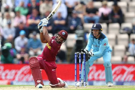 Nicholas Pooran showed glimpses of his talent once again. Picture: Michael Steele/Getty Images