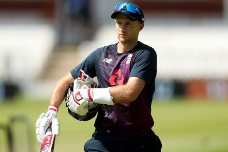 England's Joe Root during the nets session at Lord's.