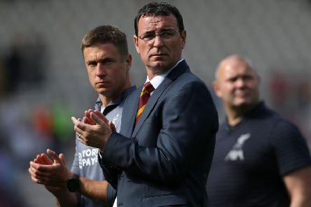 Bradford City's manager Gary Bowyer: Aiming to lead Bantams straight back up.