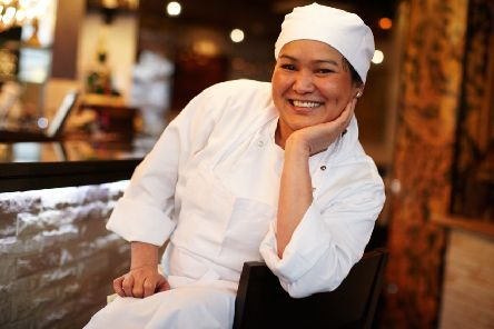 Ban Kaewkraikhot, head chef and owner of the Sukho Group, which owns the Zaap Thai and Sukhothai restaurants.