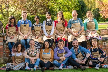 The Great British Bake Off 2019 contestants.