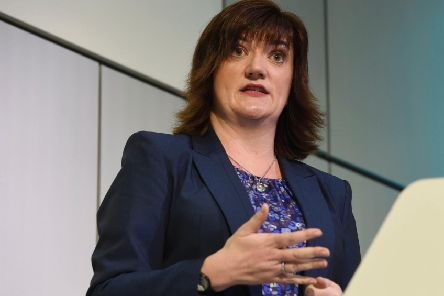 Nicky Morgan, Secretary of State for Digital, Culture, Media and Sport. Photo credit: Lauren Hurley/PA Wire