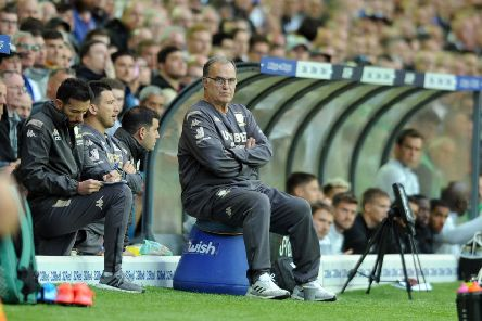 LUCKY STRIKE: Leeds boss Marcelo Bielsa. Picture: Tony Johnson.