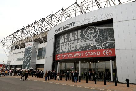 A general view of Pride Park which Middlesbrough believe was purchased illegally (PIcture: PA)