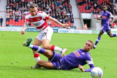 Doncaster's Jon Taylor, pictured. Picture: Marie Caley