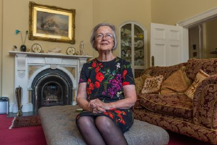 Baroness Hale at home in Richmond, North Yorkshire. Pic: James Hardisty.