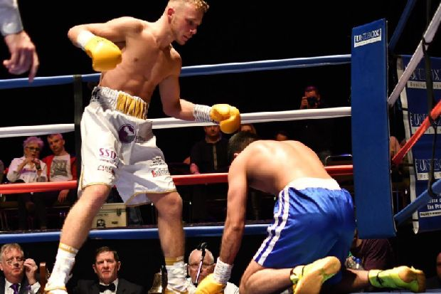 Phoenix Camp prospect Joshua Holmes doing things the Floyd Mayweather Jr. way as he collects win number four - Burnley Express