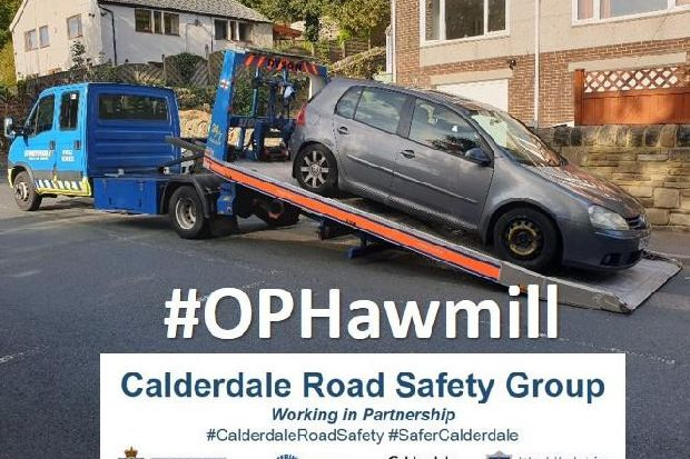 How police reacted to concerns in a Halifax community and seized this vehicle