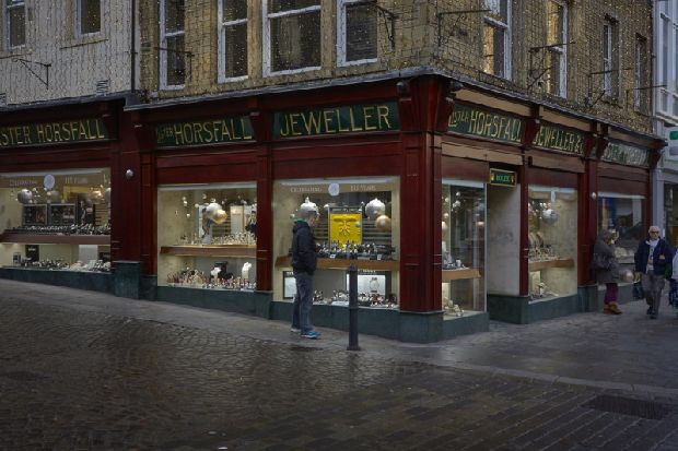 Halifax family jewellers refused planning permission for advertising flags