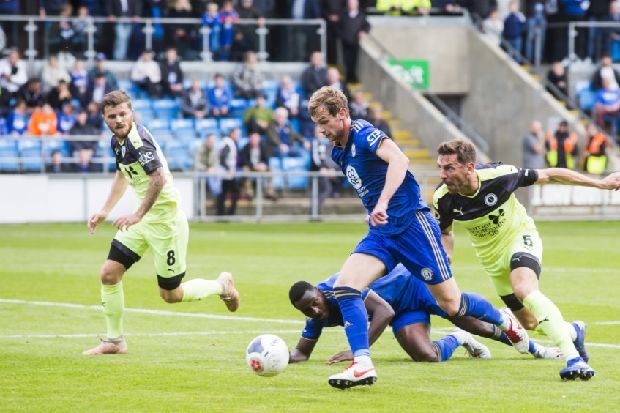 FC Halifax Town: King optimistic he can win his fitness battle