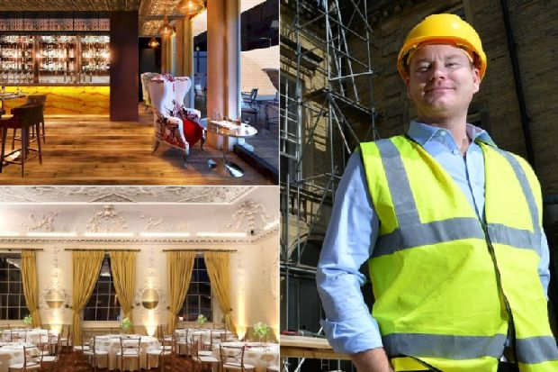How the £450,000 work is progressing on the new Halifax Alibi bar and restaurant in Somerset House