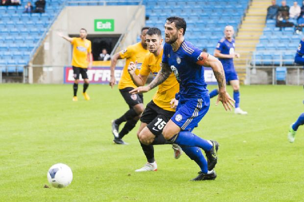 FC Halifax Town: Let's keep up the pace, says skipper Brown