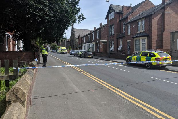 Police close Wakefield road due to 'concern for safety of a male'