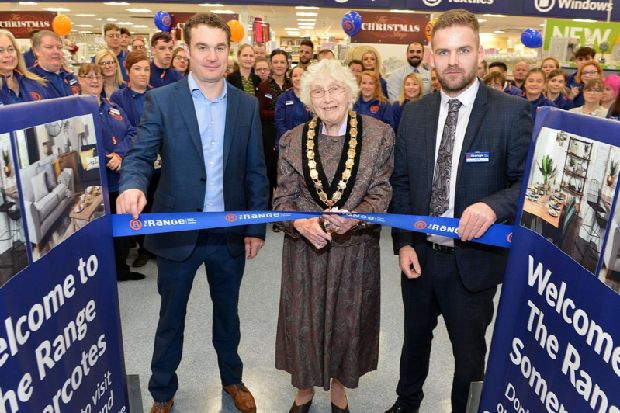 The Range celebrates grand opening of Somercotes store - Ripley and Heanor News