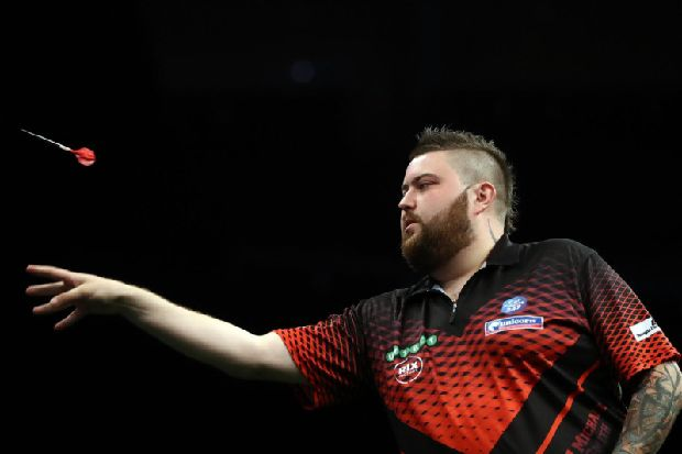 Rob Cross defeats St Helens darts ace Michael Smith in Premier League