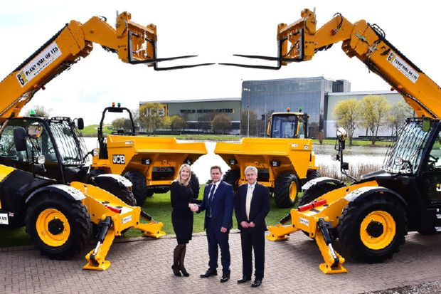 JCB secures multi-million pound deal with St Helens firm Plant Hire UK
