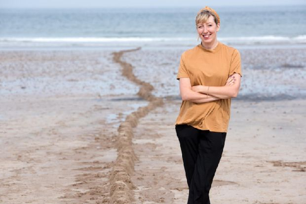 Artist invites you to build sandcastles in Scarborough's South Bay Beach