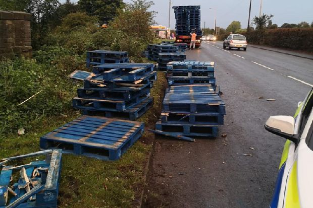 Lorry collides with railway bridge near Wakefield