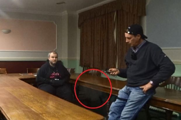 VIDEO: Have spirits been caught on camera at 'haunted' town hall?
