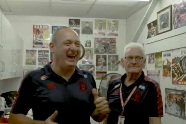 Wigan Warriors give fans a glimpse behind the scenes in new