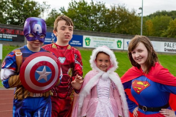Superheroes zoomed into view for SNAPS in South Leeds