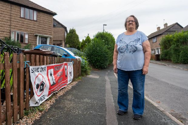 'They'll have to drag us out': Leeds residents vow to defy plans to flatten their homes