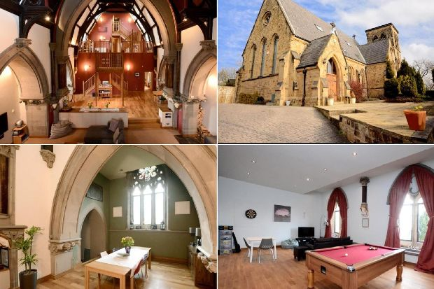 See inside the stunning converted church for sale in Leeds