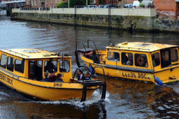 Leeds Dock water taxis will charge just £1 per trip and might get an Uber-style app