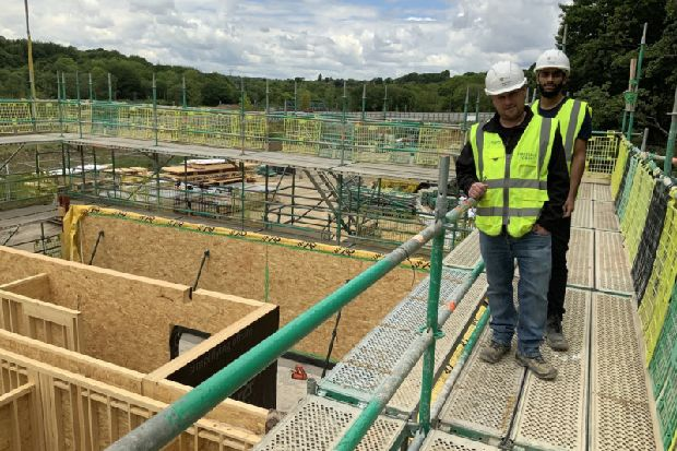 Kirkstall Forge development welcomes first recruits to innovative apprenticeship programme