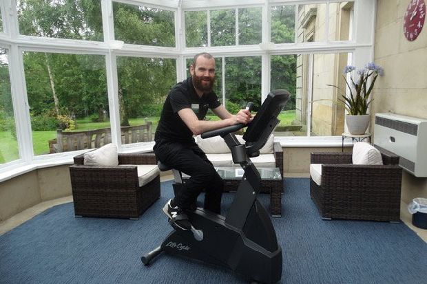 Staff at Spire Leeds Hospital cycle 1,000km for charities