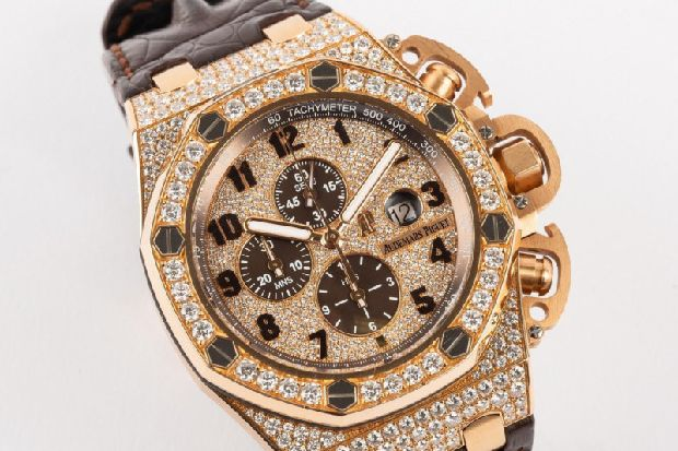 £160k watch seized from drugs boss who claimed he had borrowed it to feature in rap video to go under auction