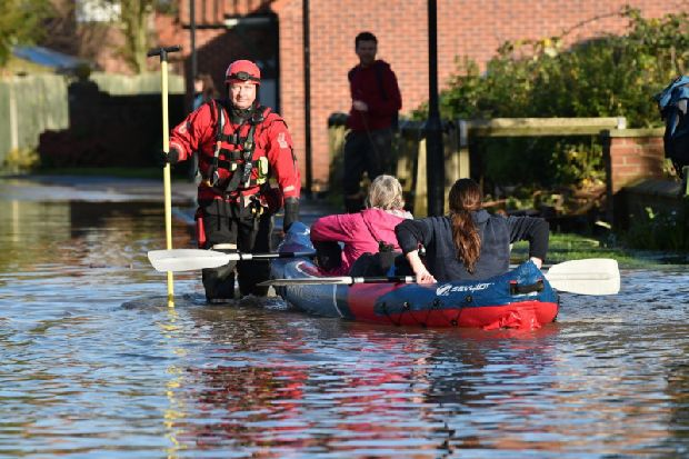 Political leaders want Yorkshire floods to be classed a national emergency