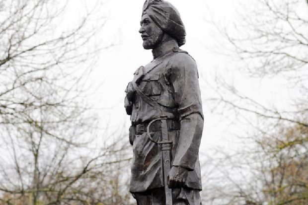 Sikh statue unveiled in Yorkshire to honour soldiers