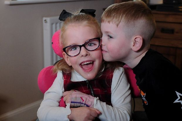 How a £1,400 chair could help little Esmae and her family