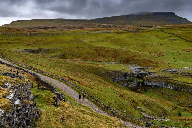 Pen-y-Ghent: The Yorkshire Dales mountain likened to a crouching lion