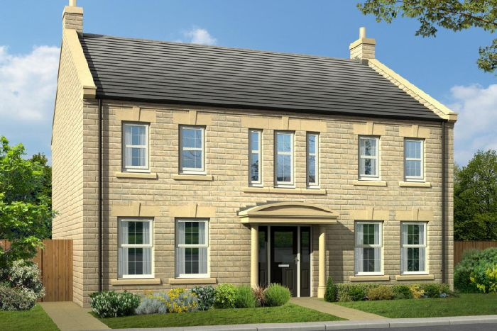 An Example Of The New Luxury Houses Coming To Killinghall In Harrogate.