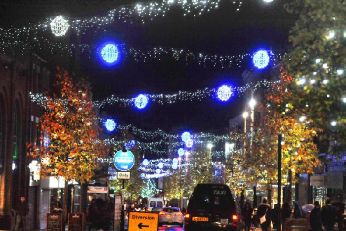 Last year's Christmas Lights Switch On
