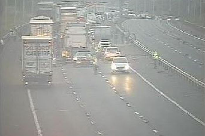 Lancashire man, 21, dies following M6 crash with petrol tanker which
