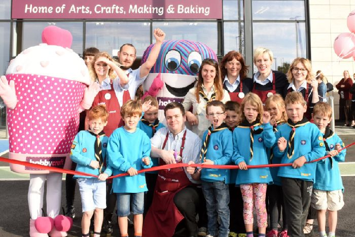 New Hobbycraft Store Opens At Silverlink News Guardian