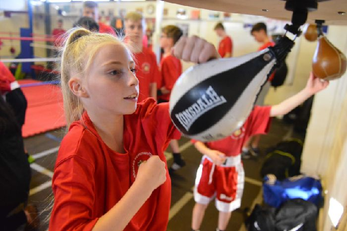 Amateur boxing association for girls me
