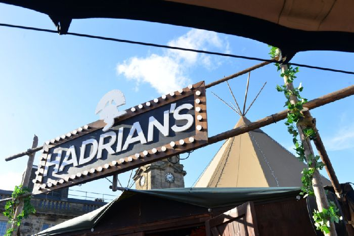 Video tour and drinks prices at Sunderland\'s Hadrian\'s Tipi ...