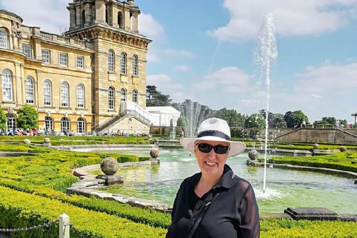 Karen at Blenheim Palace