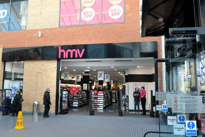Hmv Collapse Wigan Store Looks Set To Avoid Closure Wigan Today
