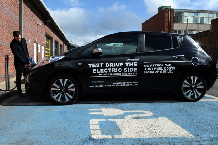Chris Burn Test Drives An Electric Car Around Leeds As The City Attempts To Cut Sel